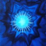 SIRIUS  One Off Canvas: SOLD  The Sirius Portal is a higher dimensional Energy allowing pure expansion of self. A radiating Blue penetrates throughout Sirius and it manifests One's Will in strong positive emotions, aligning One's DNA in maximum essence of Love and Wisdom. Embrace the pure divinity of advanced consciousness and let it become One.